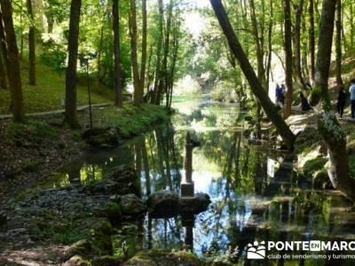 Cañones y nacimento del Ebro - Monte Hijedo;rutas sierra de guadarrama;rutas por el escorial